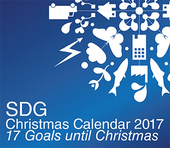 A Christmas calendar from Centre for environment and sustainability