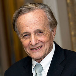 Audio description: portrait of John Polanyi