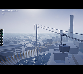 Audio description: Virtual City teaser screenshot