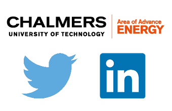 Audio description: Follow us! Logos AoA Energy, Twitter, LinkedIn