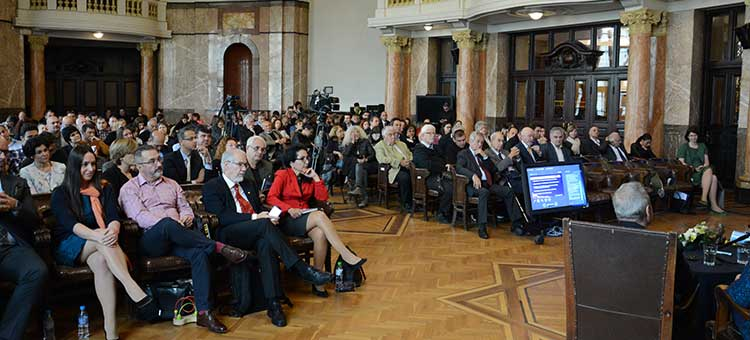 The Gate opening event took place in the Ceremonial Hall of Sofia University St. Kliment Ohridski.