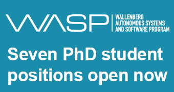 WASP announcing seven PhD student positions