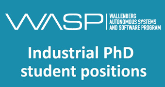 WASP call for industrial PhD students