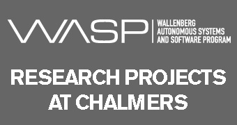 WASP projects at Chalmers