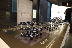 Carbon structures in the exhibition