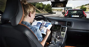 Self-driving car from Volvo