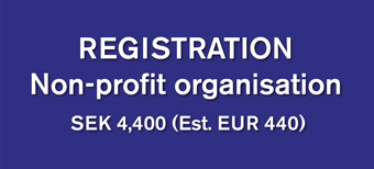 Registration for non-profit organisation