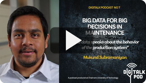 Digitalk podcast bid data for big decisions in maintenance