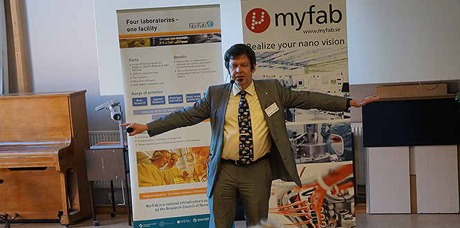successful user meeting for myfab chalmers. Black Bedroom Furniture Sets. Home Design Ideas
