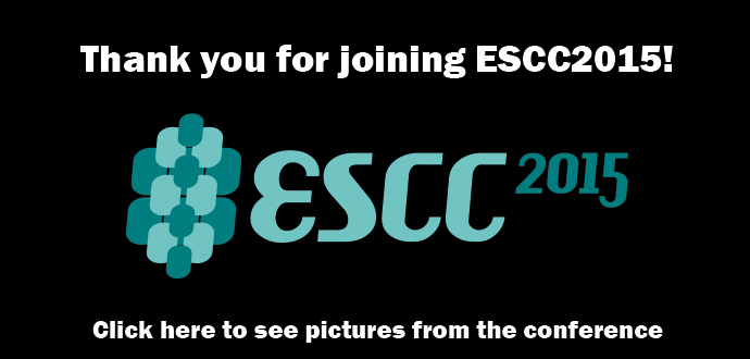 See pictures from ESCC2015