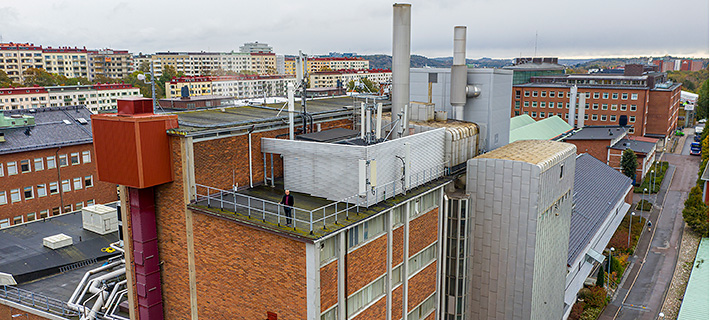 Chalmers Power Central, an advanced research facility focusing on carbon capture and conversion of biomass and waste.