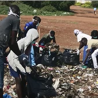 Obunga clean up & waste pickers 2014-2015