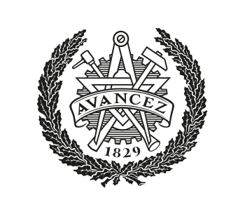 Audio description: Chalmers Avancez emblem
