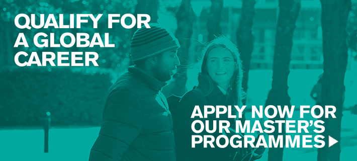 Image link: Apply now for our Master's Programmes