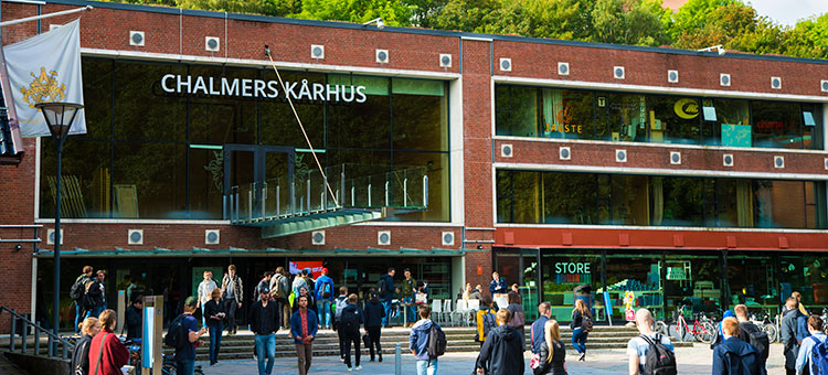 Picture of Chalmers Johanneberg campus.