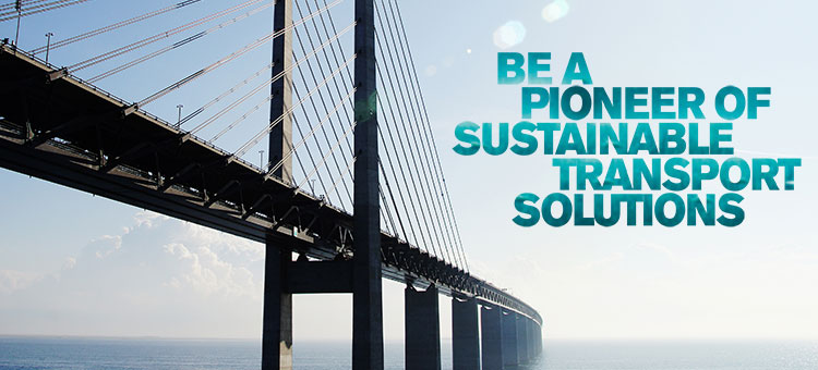 Be a pioneer of sustainable transport solutions