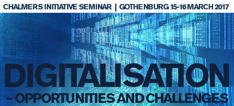 Initiative Seminar Digitalisation - opportunities and challenges