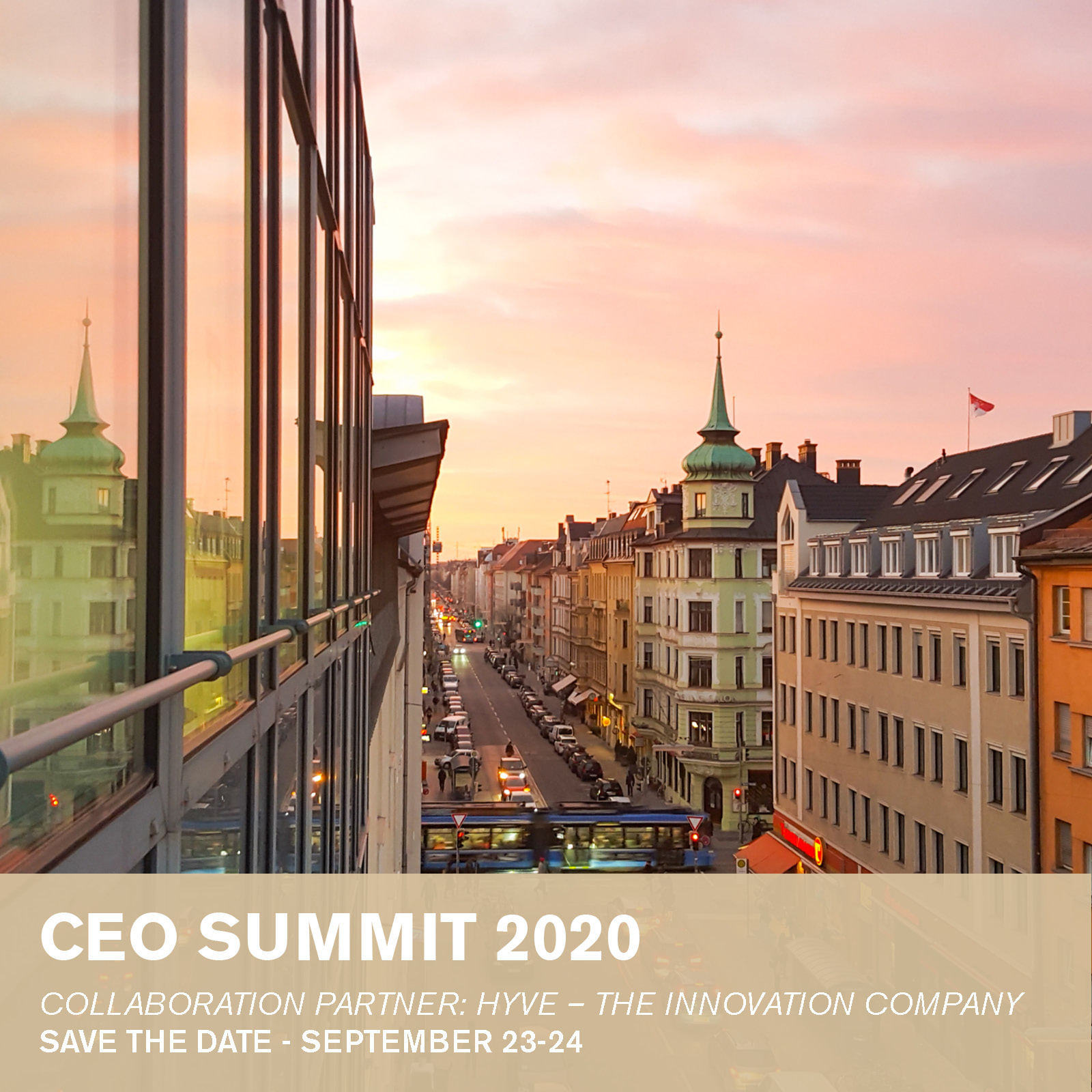 CEO summit 2020 Save the date