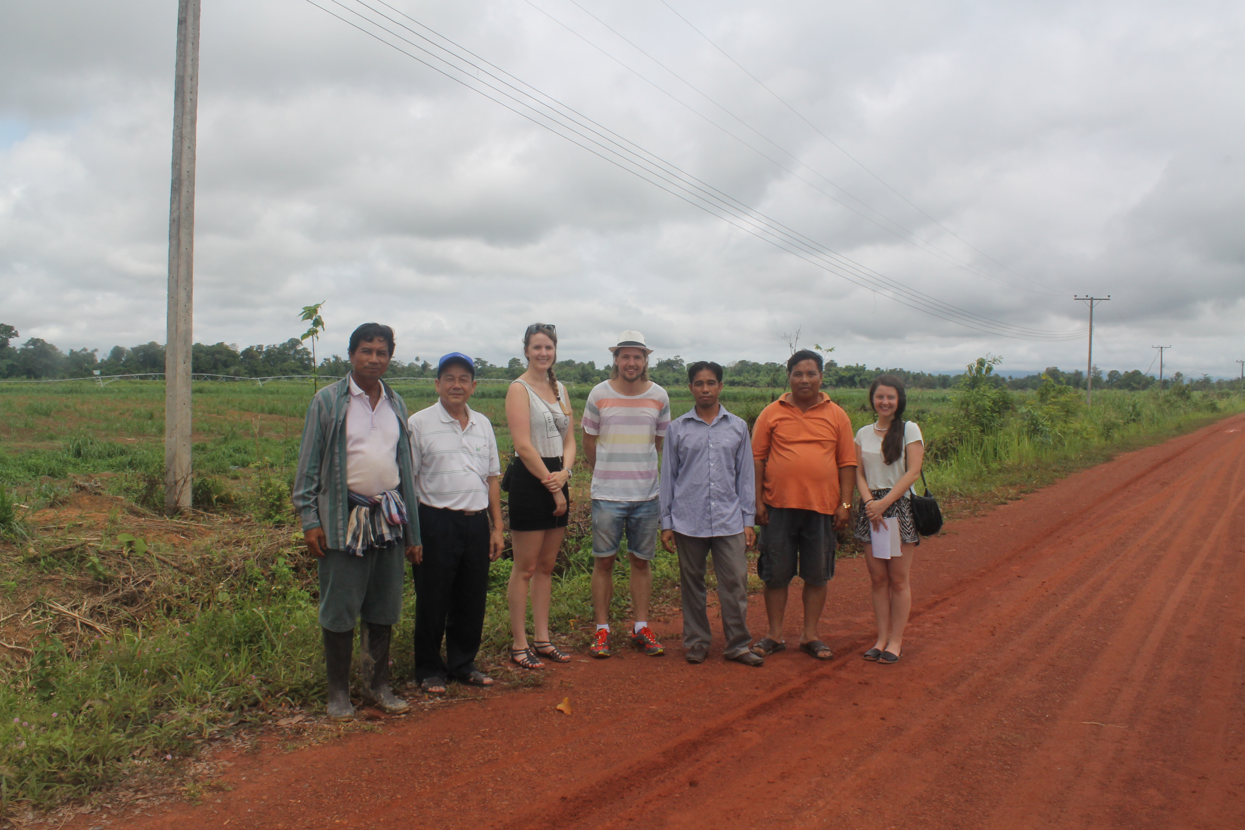 Picture: Students in Laos, project is run by Janna Forsén, Carl Gunnarsson, Arthur Noort and Johanna Bjarsch Follin 2014.