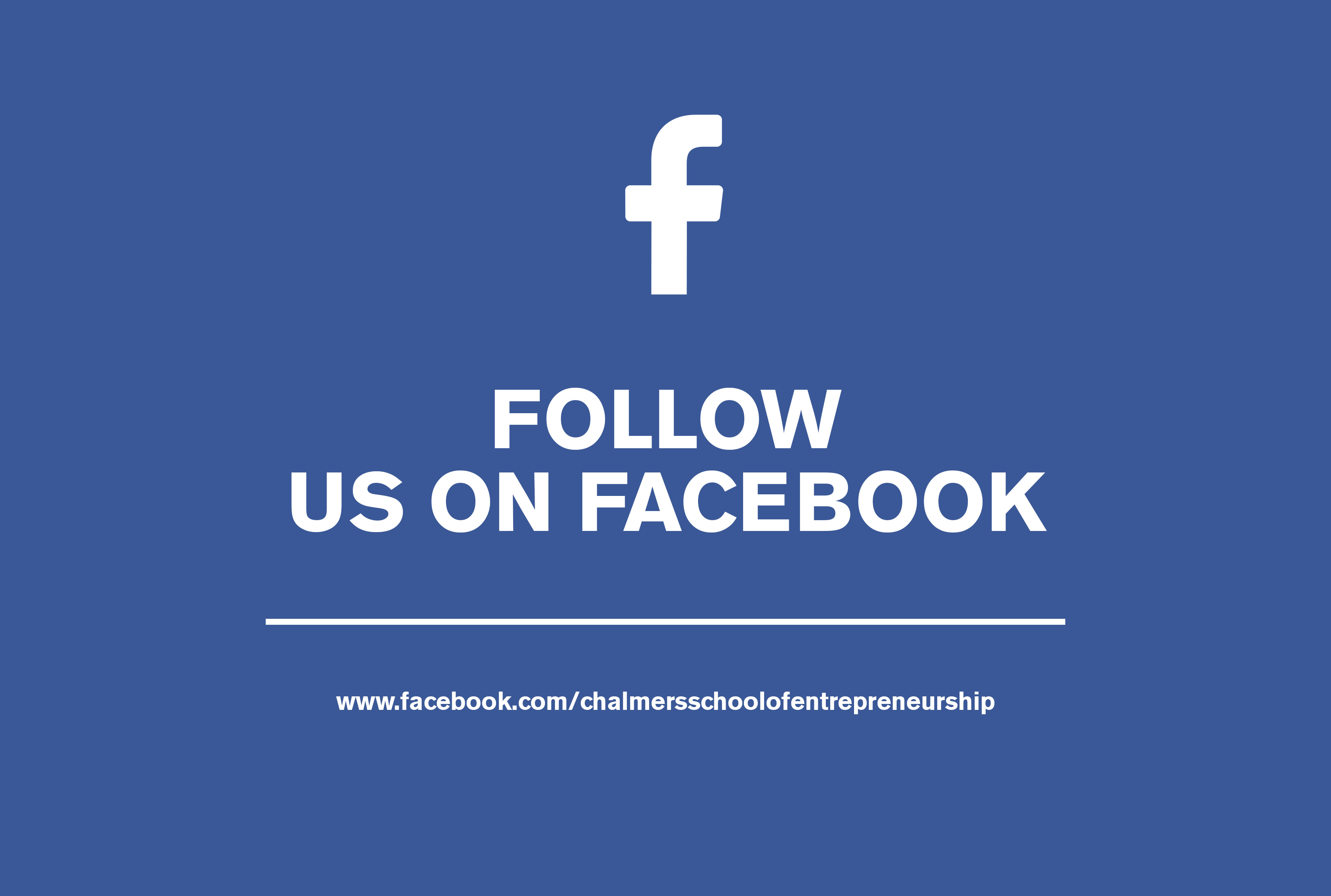 Facebook Chalmers School of Entrepreneurship