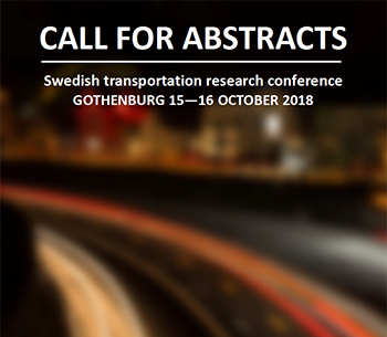Nationell konferens i transportforskning 2018 - call for abstracts