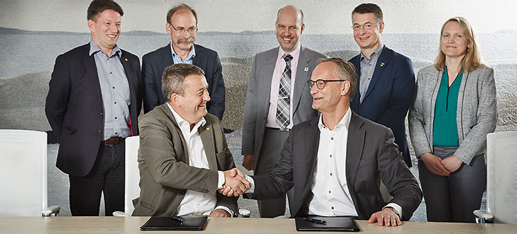 Signing of strategic partnership contract between Chalmers and Stora Enso 2016