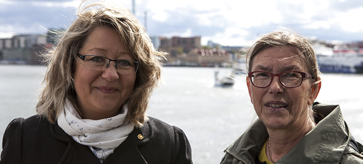 Maria Grahn and Karin Andersson, Chalmers