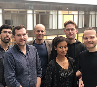 Audio description: Picture of VirtualCity team members