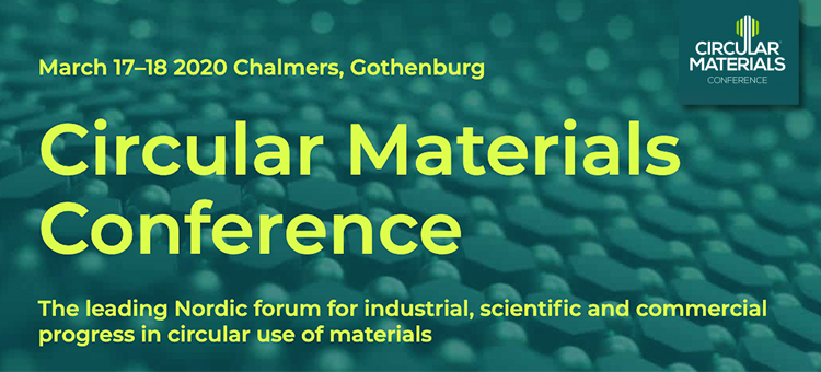 Circular Materials Conference 2020 | Chalmers
