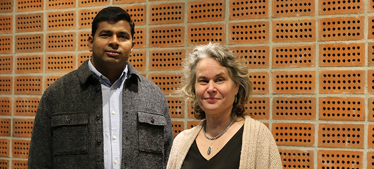 Venkat Rao Konasani and Eva Albers photo