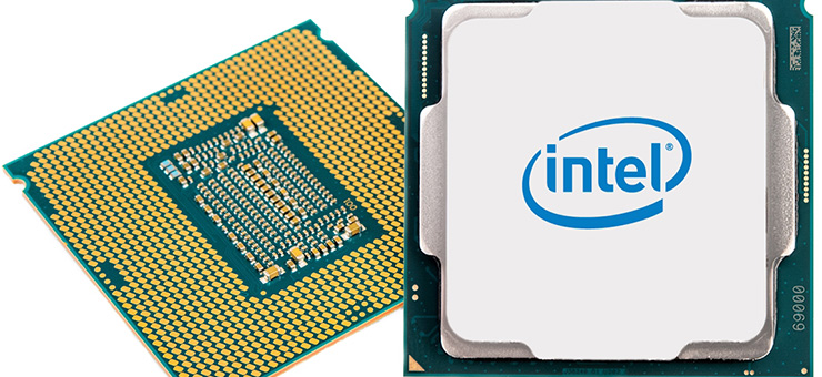 ​The 8th Gen Intel Core processor