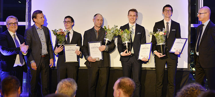Prisutdelning Volvo Cars Technology Award