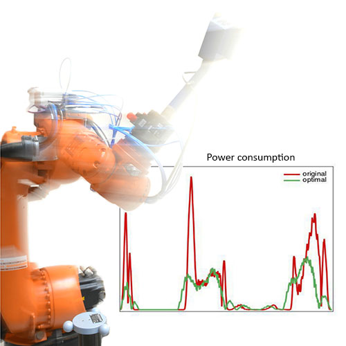 Power consumption industrial robot