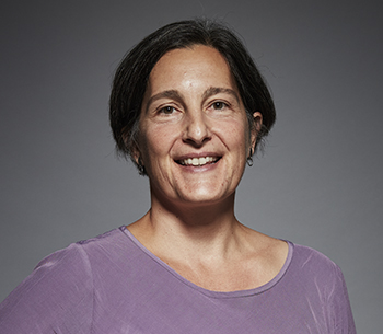 Portrait of Chalmers Professor Julie Gold