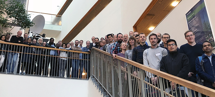 Group photo of Chalmers Microscopy School 2018