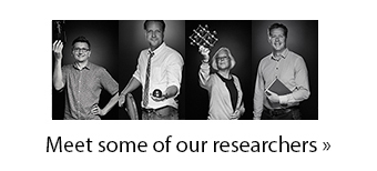 Meet some of our researchers