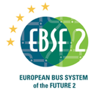 Logotyp for forskningsprojektet European Bus System of the Future 2