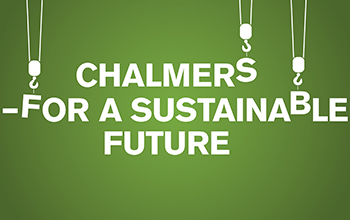 Chalmers for a sustainable future graphic