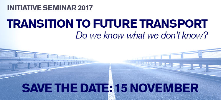Transport initiative seminar 2017