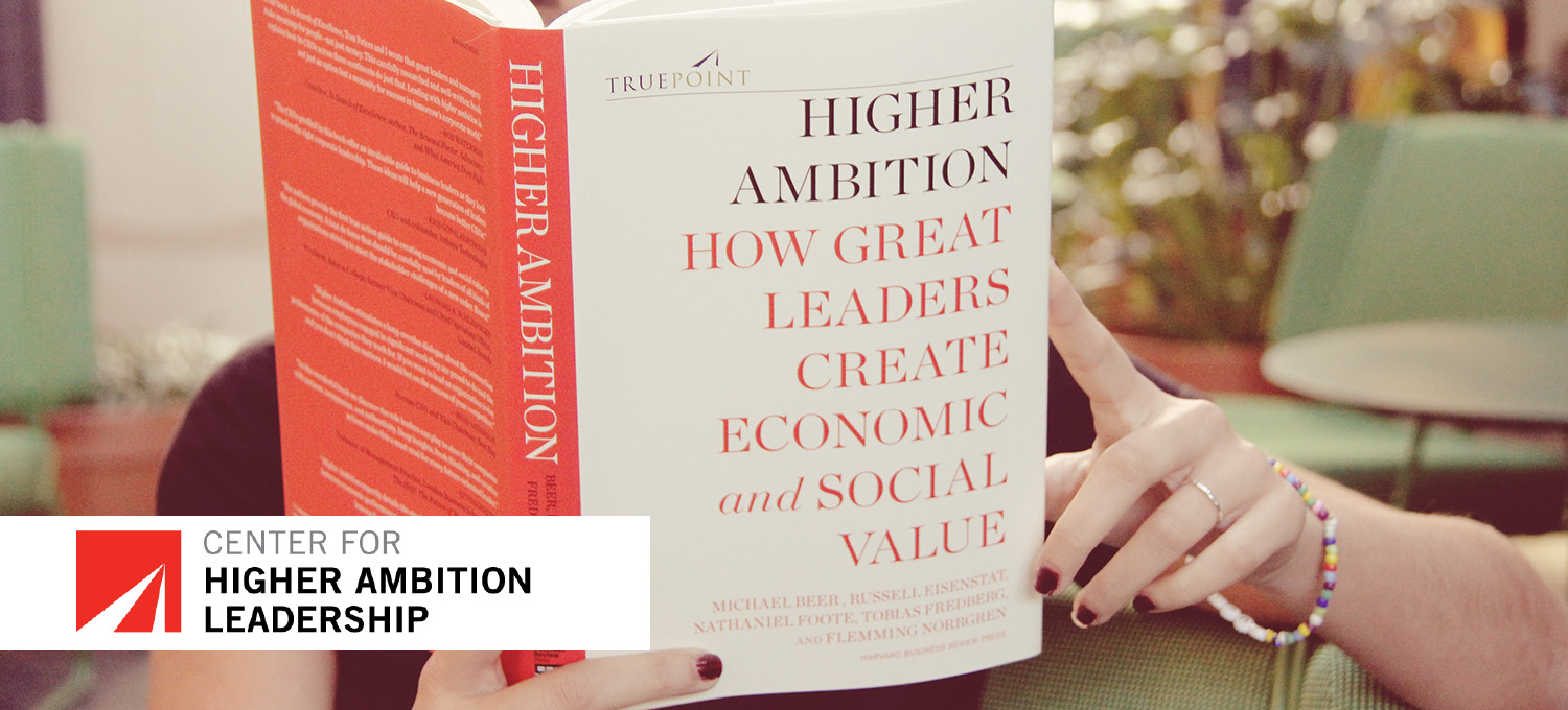 Higher Ambition Leadership book