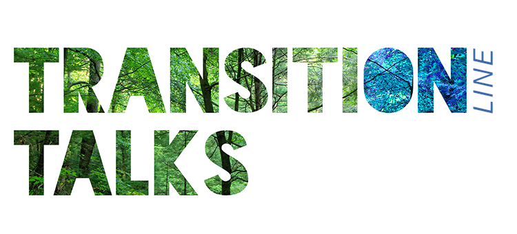 Transition online talks logo