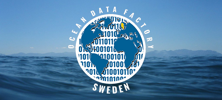 Logotyp projekt Ocean Data factory